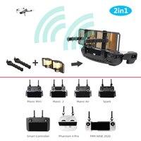 Antena Yagi antena amplificador de señal para mavic/mini/mavic 2/mavic aire/chispa/controlador inteligente/phantom 4 pro/fimi x8 se 2020