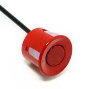 Image 5 - 22mm sensör siyah kırmızı beyaz gümüş şampanya altın rengi araba park sensörü kiti monitör ters sistemi