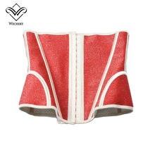 Ретро талии тренер элегантные для похудения уменьшения пояс для живота Гейн Ventre пояс Корректирующее белье плечевой ремень