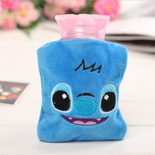 Mini Hot Water Bottle Cute Cartoon Hand Warm Bottles Portable Warmer Girls Pocket Feet Bags