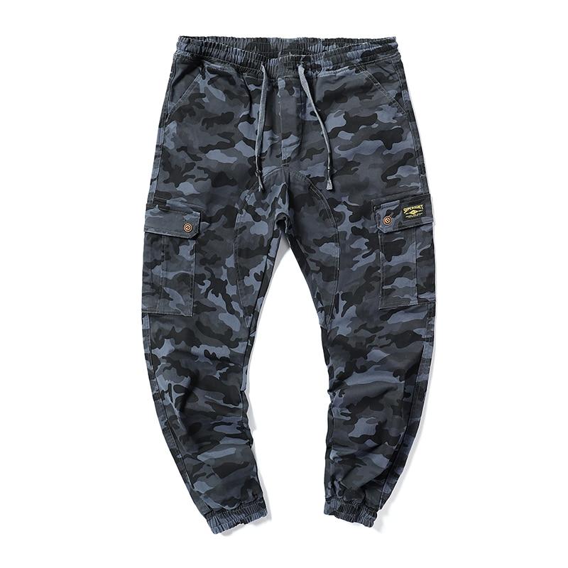 Grande taille 7XL 6XL 5XL 2019 nouveau hommes automne pantalon hommes Camouflage militaire pantalon lâche confortable Cargo pantalon Camo Joggers