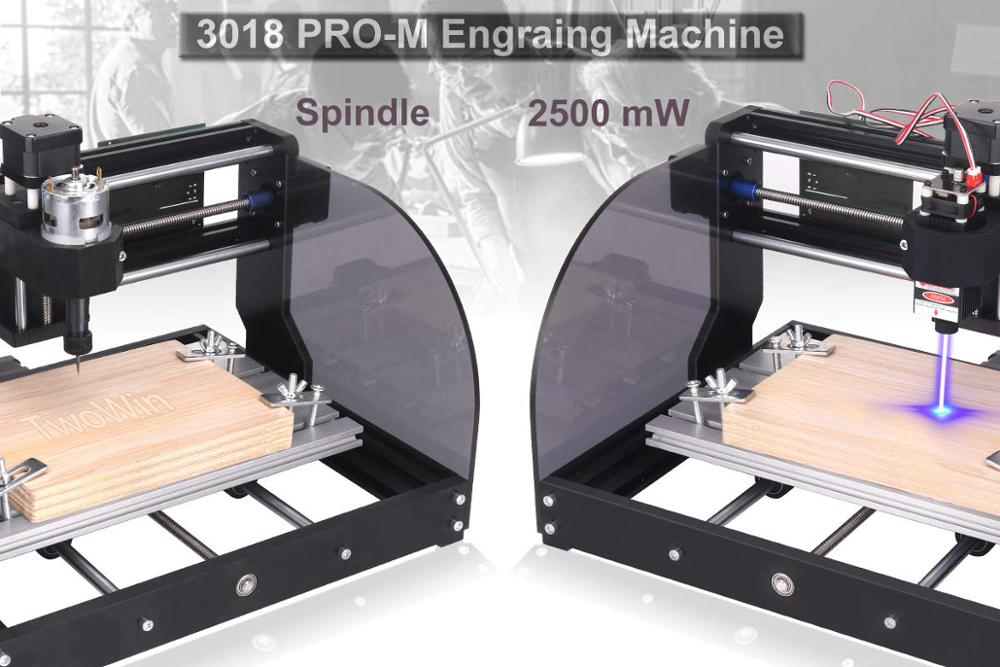 CNC 3018 Pro Max Laser Engraver/3Axis Wood Router With Offline Controller 1