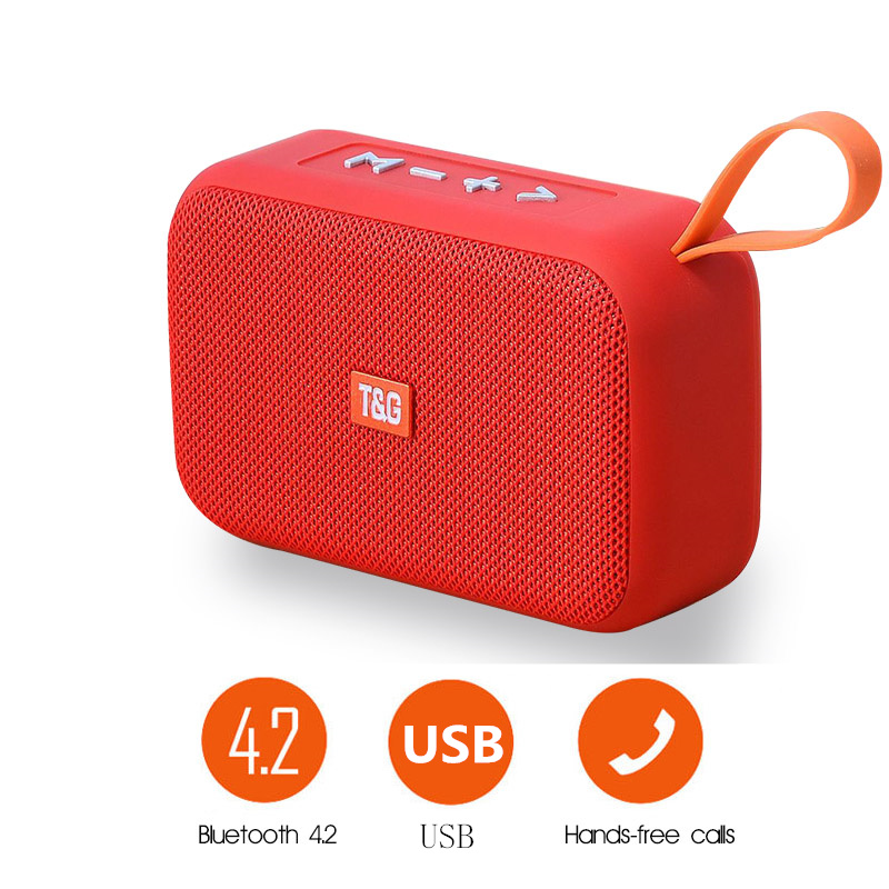 GTIPPOR Wireless Square Bluetooth Speaker Stereo Outdoor Waterproof Speaker Support Data Card Portable Audio And Video Equipment