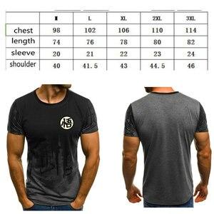 Image 5 - Yeni pamuk komik T shirt dragon topu Z T shirt erkekler dragon topu baskı Son goku Goku moda T shirt erkek üstleri Tee tshirt