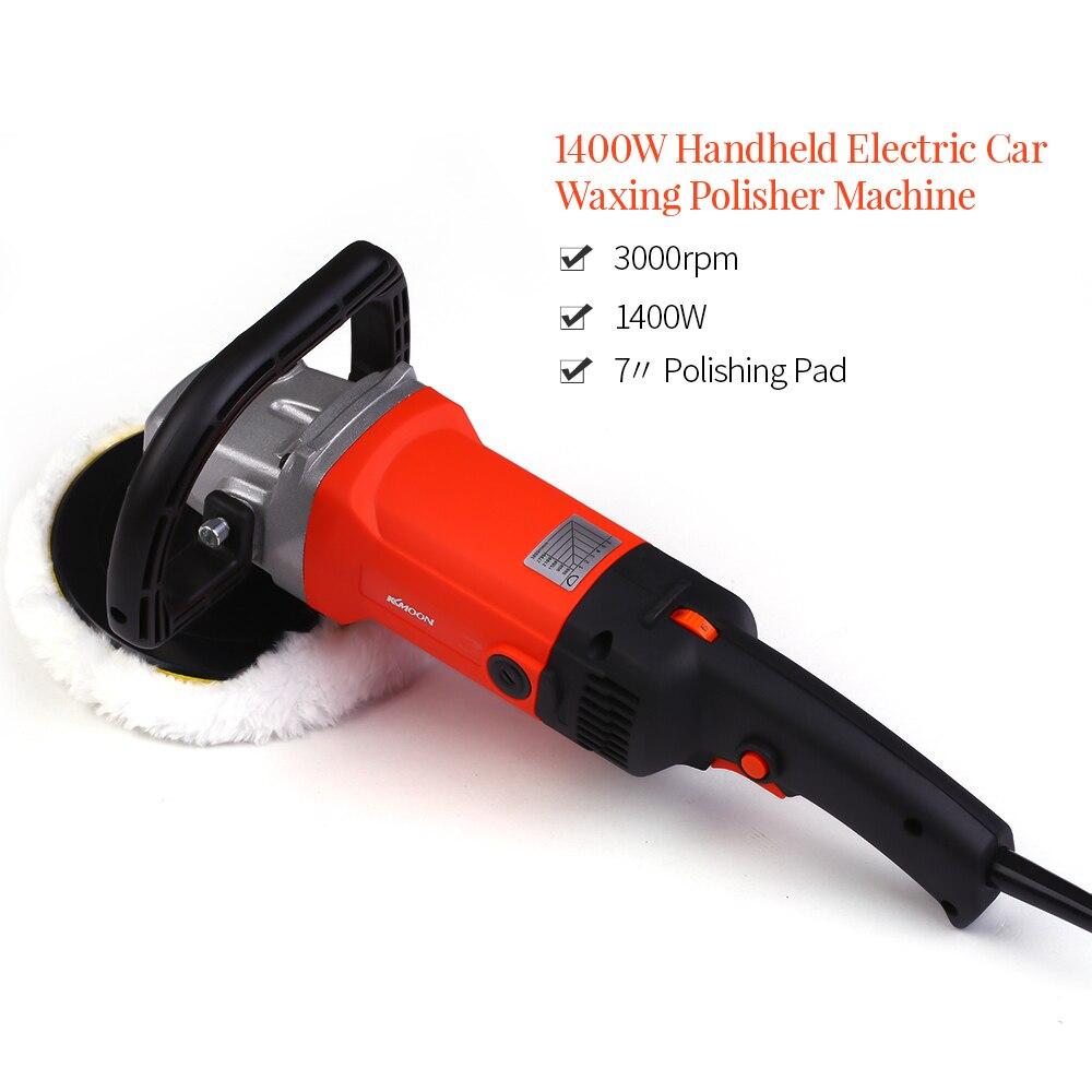 Image 4 - 1580W 220V Grinder Mini Polishing Machine Car Polisher Sanding Machine Orbit Polish Adjustable Speed Sanding Waxing Power Tools-in Polishers from Tools on