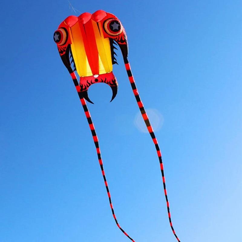 free shipping large soft kite fly trilobite kites for adults ripstop nylon kite reel jellyfish octopus kite eagle kite factory
