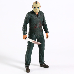 Image 4 - NECA Friday the 13th Jason Ultimate Part 5 Roy Burns Action Figure Horror Halloween Toy Doll Gift