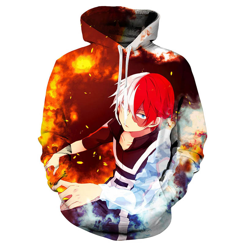 Anime My Hero Academia Season 5 Cosplay Costume Hoodie Sweatshirt Jacket Fashion Katsuki Bakugo Costume Uniform Men Women Unisex image