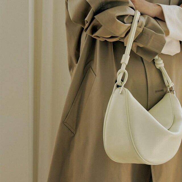 [Bxx] simples couro do plutônio marca crossbody bolsas e bolsas 2021 primavera designer bolsa de ombro das senhoras bolsa viagem hq410      -