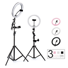 Photography LED Selfie Ring Light Dimmable Photo Studio Light with USB Plug Lamp&Tripod Stand For Makeup Youtube Video Live
