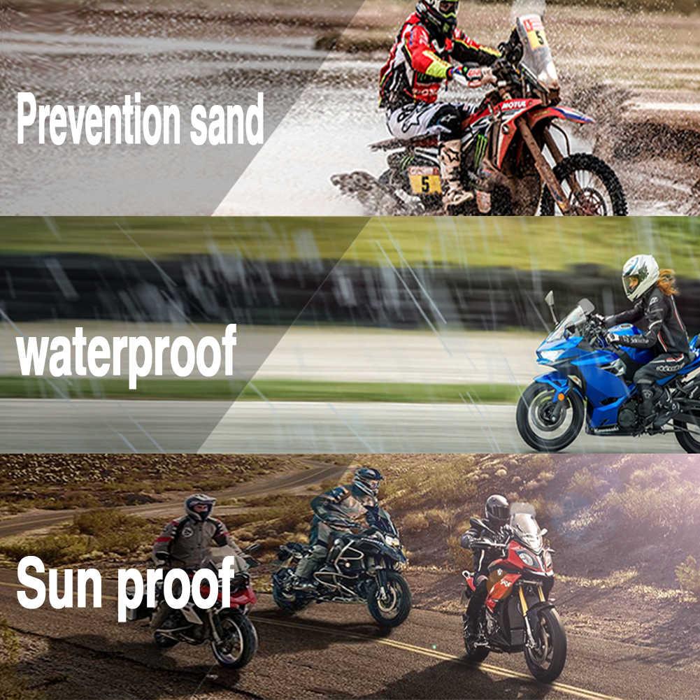 Parabrezza per estensori deflettore parabrezza moto universale compatibile con Kawasaki Honda KTM