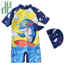 Swimwear Kids HH Baby-Boys Children's Cartoon Teens One-Piece 2pcs And Summer Clothing