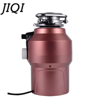 JIQI food waste disposer garbage disposal processor crusher Stainless steel grinder shredder kitchen appliance 380W with adapter
