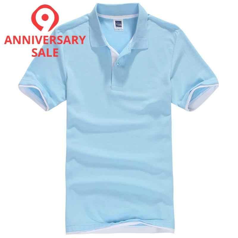Grande taille XS-3XL flambant neuf hommes Polos chemise hommes Desiger décontracté hommes coton à manches courtes chemise vêtements maillots golftennis TX107