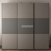 BK-W01 2 м x 2 м Современный стиль, гардероб 3 стороны двери дизайн Луи мода простой деревянный хранения комбинированный гардероб простая установка