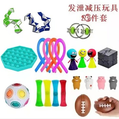 Fidget-Toys Autism Decompression-Toy Stress Anxiety Adults Pop for Kids 31PCS Bubble img4