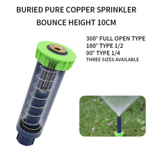 90/180/360 degrees New Adjustable up Sprinklers with Female thread  Automatic retractable Lawn Irrigation sprinkler