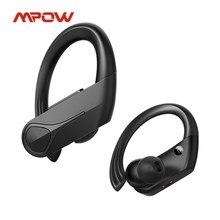 Mpow chama solo tws bluetooth 5.0 fones de ouvido sem fio com cancelamento ruído enc mic ipx7 à prova dwaterproof água para correr esporte