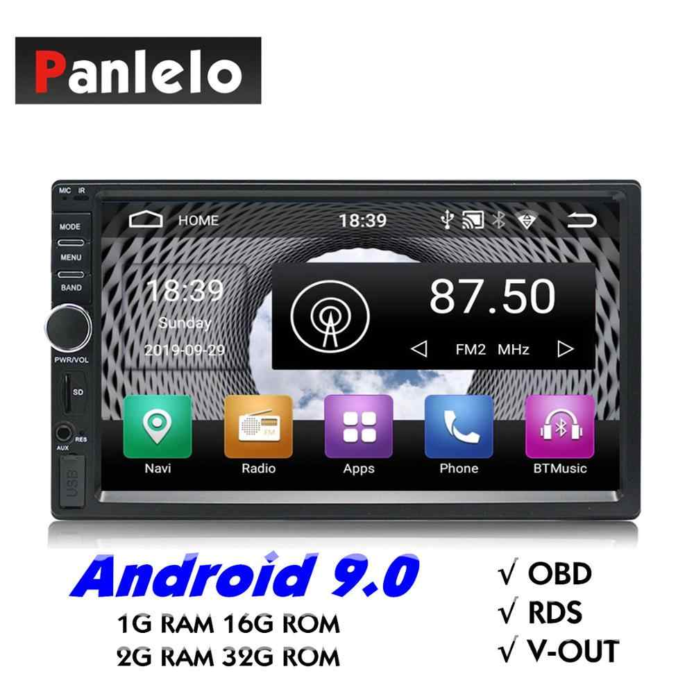 Reproductor Multimedia para coche 2 Din música Audio Video estéreo para coche Android MP3 MP4 WiFi Bluetooth pantalla táctil de 7 pulgadas ranura USB SD 1024*60