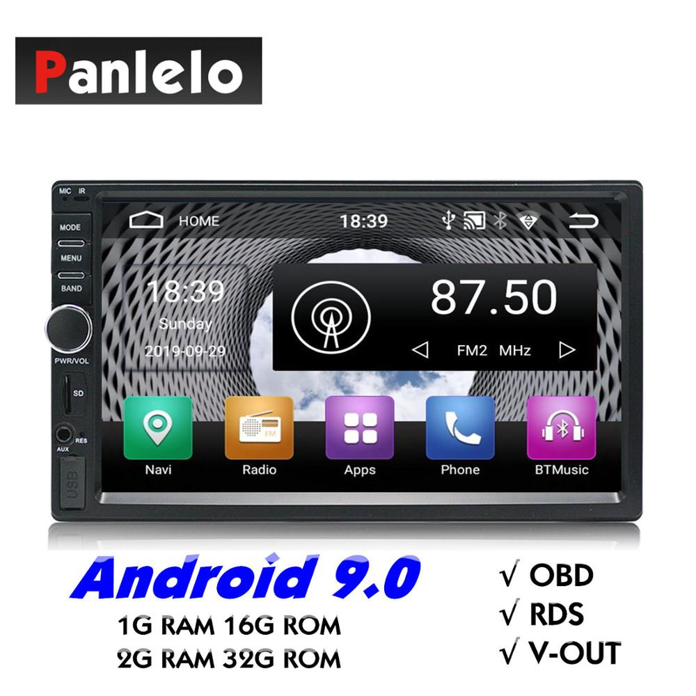 2 Din Car Multimedia Player Music Audio Video Android Car Stereo MP3 MP4 Wi-Fi Bluetooth 7 inch Touch Screen SD USB Slot 1024*60 image