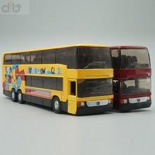 Bus à deux étages moulé sous pression, modèle réduit de jouet, 1:64, MB 0 404 DD
