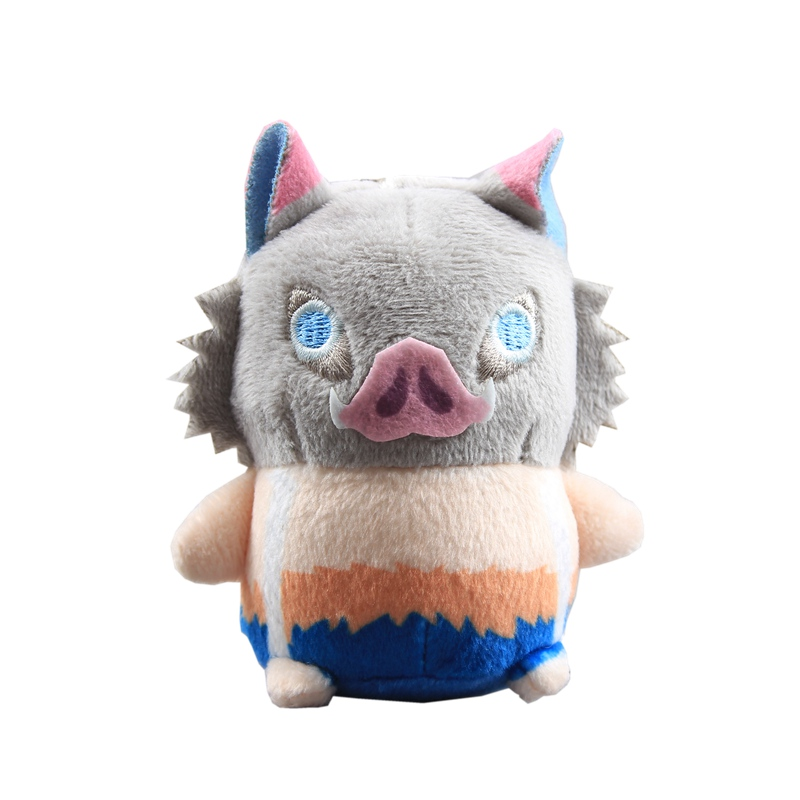 9cm Demon Slayer Inosuk Plush Toys Doll Peluche Japan Cartoon Anime Pig Stuffed Animals Toys Baby Kids Christmas Birthday Gift