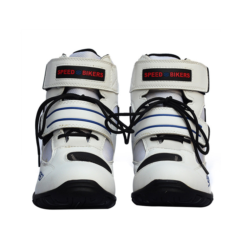 Pro buty motocyklowe motocykl Sport krótka skóra z mikrofibry Probiker wyścigi kostki buty jeździeckie Motocross Moto antypoślizgowe buty