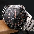 Parnis автоматические часы для ныряния водонепроницаемые 200 м металлические механические мужские часы сапфировое стекло светящиеся