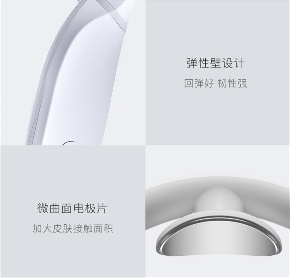 Xiaomi Jeeback Cervical Massager G2 TENS Pulse Back Neck Massager Far Infrared Heating Health Care Relax Work With Mijia App (6)