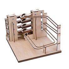 Деревянные 3d пазлы «сделай сам» Мраморная рама Сборная модель