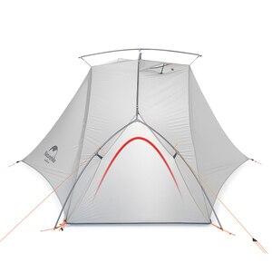 Image 2 - Naturehike ויק סדרת 970g Ultralight יחיד אוהל 15D ניילון עמיד למים קמפינג אוהל שכבה אחת חיצוני טיולים אוהל