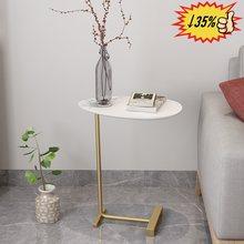European Modern Coffee Table Simple Bedroom Mini Bed Leisure Multifunctional Wood Corner Table Center table