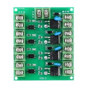 Image 2 - F5305S Mosfet Module PWM Input Steady 4 Channels 4 Route Pulse Trigger Switch DC Controller E switch MOS FET Field Effect Switch