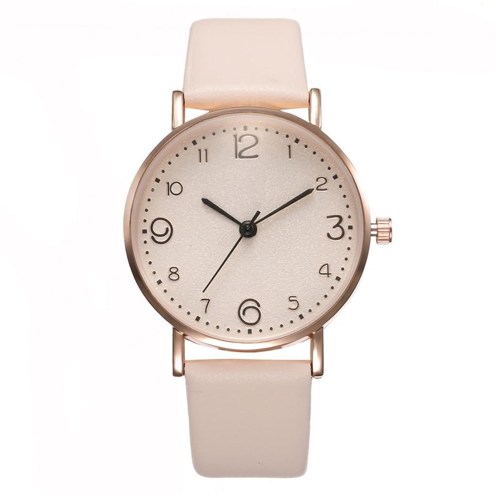 New Simple Ladies Quartz Watch Temperament Casual Watch Female Models