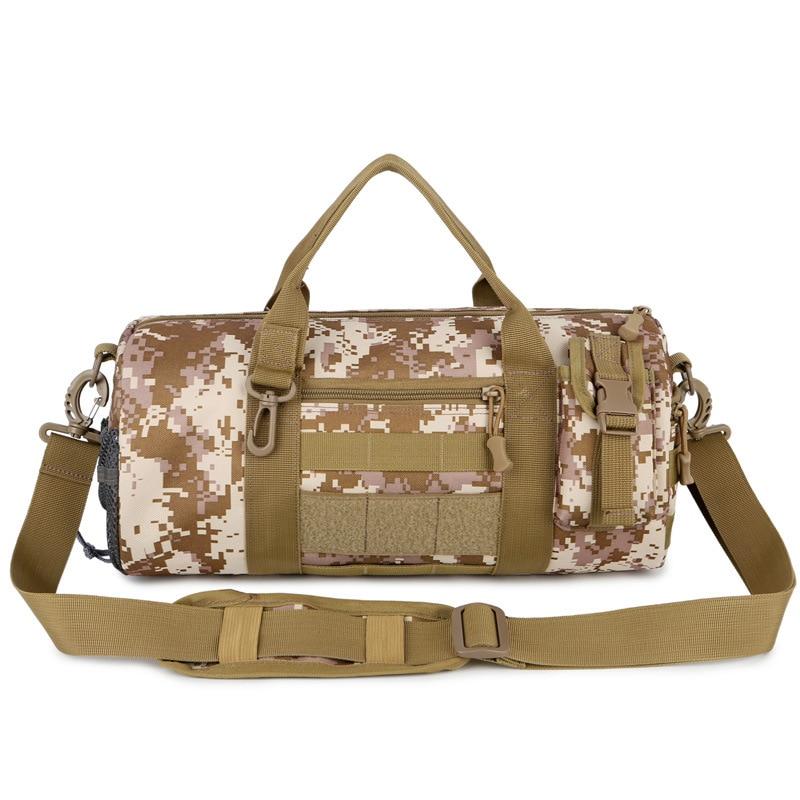 Waterproof Men Outdoor Military Tactical Bags Camouflage Training Fitness Gym Bags Sport travel Bag Shoulder HandBag Women Bag