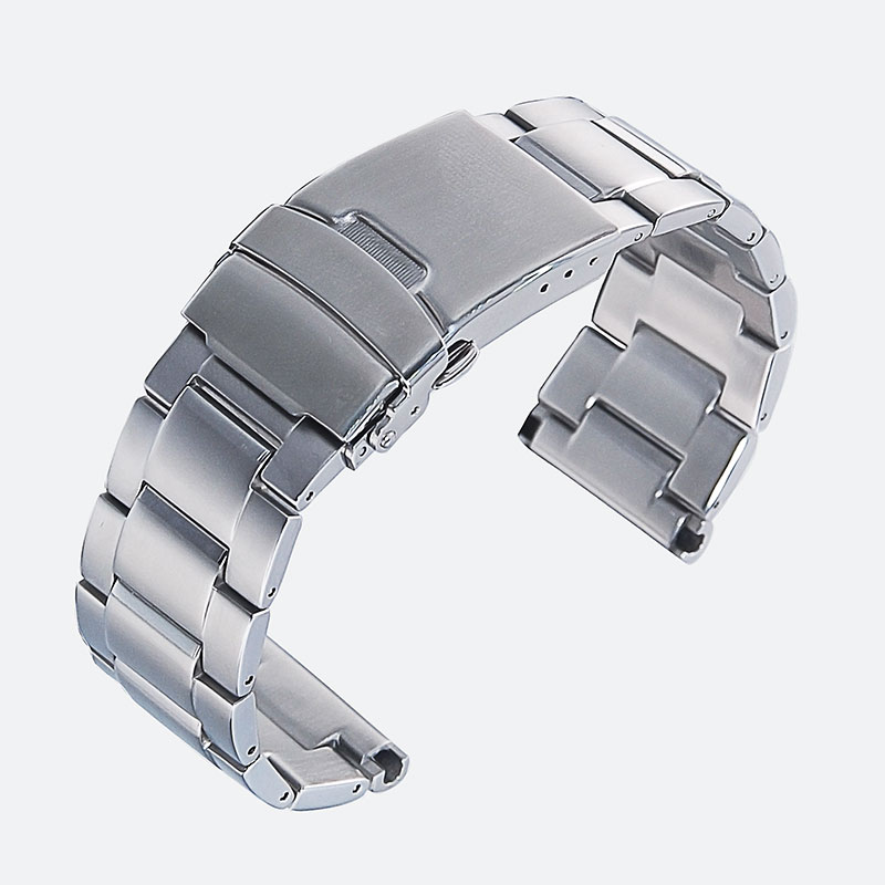 22 Mm Stainless Steel Watch Band Bracelets  Replacement For  PROSPEX Street Series SBBN015/017/031/033/SNE498/499