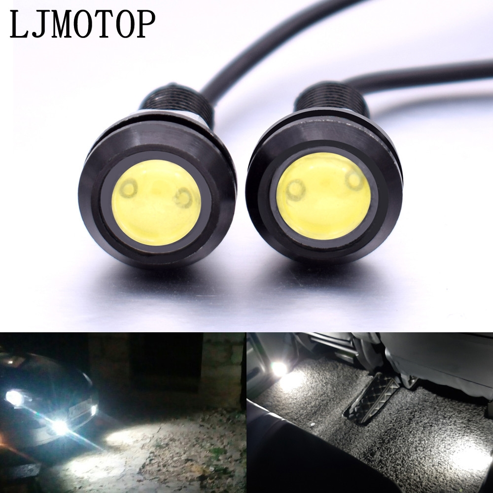 For <font><b>Honda</b></font> CR 250 <font><b>NC750X</b></font> Kawasaki KX 125/65 KX250F rayon Eagle Eye LED Reverse Backup <font><b>Light</b></font> DRL Daytime Running <font><b>Light</b></font> Signal Lamp image