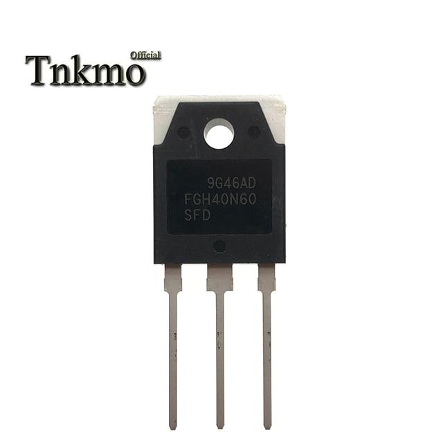 10PCS 20PCS FGH40N60SFD PARA 247 FGH40N60UFD TO247 FGH40N60 40N60 40A 600V Potência IGBT transistor entrega gratuita