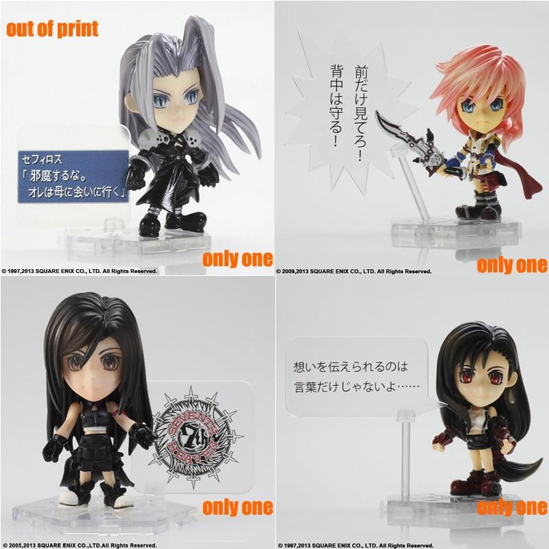 All 15 Style 10CM Original Ver Final Fantasy Nendoroid Toys TRADING ARTS KAI Mini Doll Classic Persona Collection Model With Box