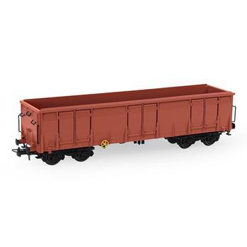 3 sztuk HO skala 187 wina czerwony wysoki po stronie gondoli samochodów Wagon taboru kolejowego pojemnik przewóz Wagon towarowy C8742