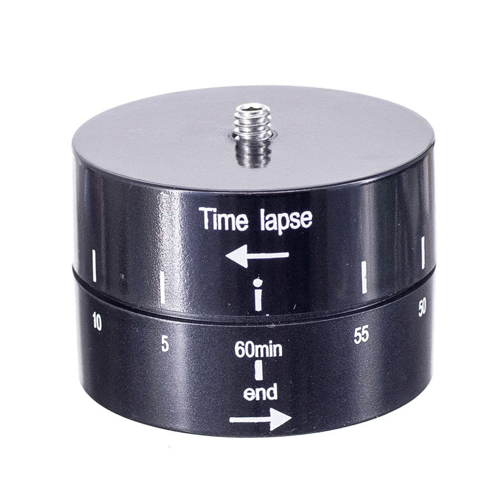 Universal Time Lapse Shooting 60min Timer Rotate For Gopro 6 5 4 3+ For Xiaoyi Action Cameras Dslr Camera Tripod