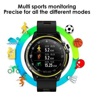 Image 5 - Reloj inteligente deportivo L8 Pk L5 L9, reloj inteligente deportivo resistente al agua IP68 con control del ritmo cardíaco y ECG de presión arterial