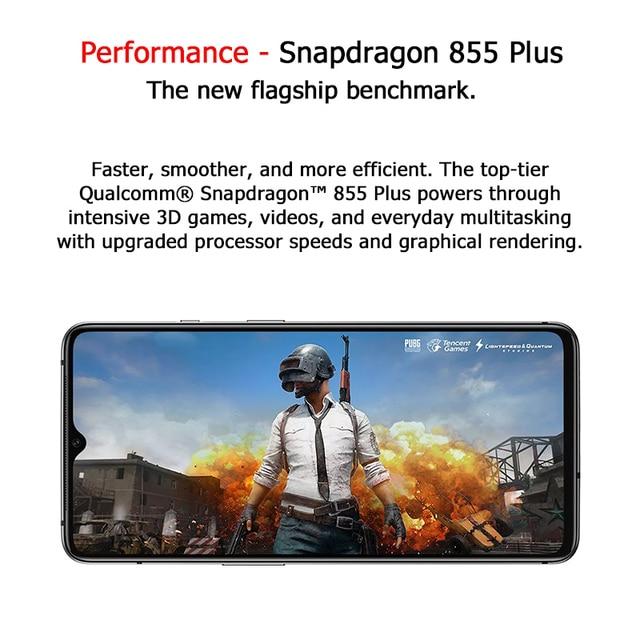 Global ROM OnePlus 7T Pro 8GB 256GB Snapdragon 855 Plus SmartPhone 6.67'' Fluid AMOLED 90Hz Screen 48MP Camera 4085mA UFS 3.0 2