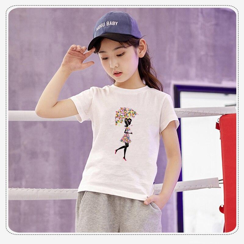 Мультяшный пони, единорог, динозавр, железная нашивка, теплопередача, одежда в полоску, футболка для мальчиков и девочек, сделай сам, волшебная наклейка на заказ