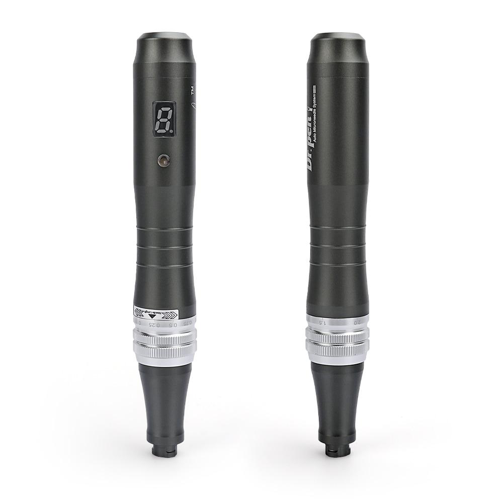 Dr Pen Ultima M8 with 2pcs Cartridges Wireless Derma Pen Skin Care Kit Microneedle Home Use Beauty Machine