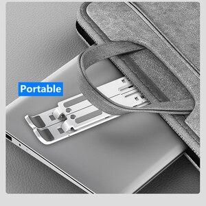 Image 5 - Laptop Stand Adjustable Portable ABS Non Slip Ergonomic Computer Stand Foldable Laptop Holder Computer Riser Bracket for MacBook