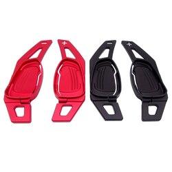 1 Paar Car Gear Shifter Stuurwiel Shift Paddle Dsg Extension Voor Audi A5 S3 S5 S6 SQ5 RS3 RS6 RS7 Aluminium Auto Stijl