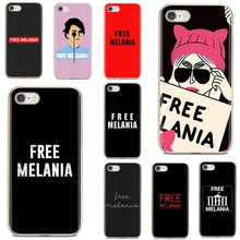 Melania livre Para Samsung Galaxy A10 A30 A40 A50 A60 A70 a12 a51 a31 a41 a71 a20e a21s M30 Claro Caso de Telefone de Silicone