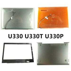 New laptop For Lenovo U330 U330T U330P LCD Back Cover Top Case/Front Bezel/Palmrest/Bottom Base Cover Case