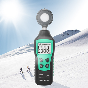 цена на Digital Light Meter 200,000 Portable Mini LUX Fotometro Spectrometer Lux Meter Luxometer Luminance Illumination Meter